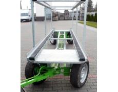 Wózki sadownicze pomocnicze