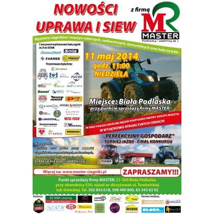 Nowości Uprawa i Siew  2014r z Firmą MASTER