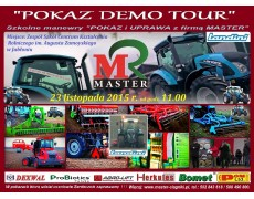 POKAZY DEMO TOUR Landini & MASTER & ZSCKR w Jabłoniu -  23.11.2015r.