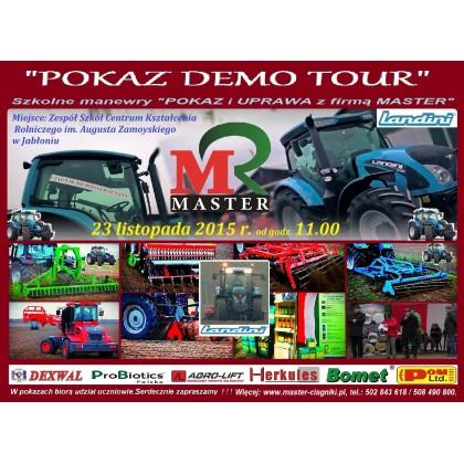 POKAZY DEMO TOUR Landini & MASTER & ZSCKR w Jabłoniu dnia 23.11.2015