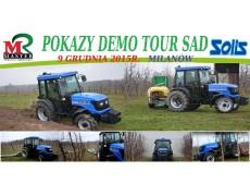 POKAZY DEMO TOUR SAD Solis i Master 9.12.2015r. w Milanowie.
