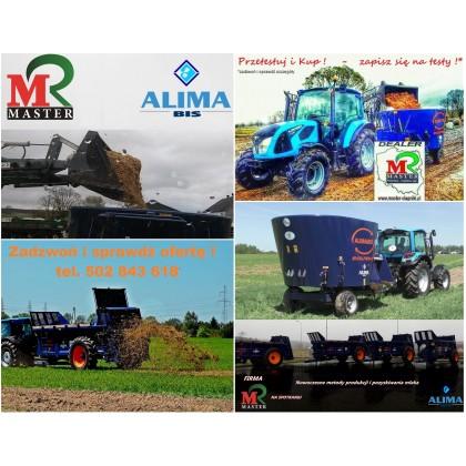 Przetestuj i Kup ! Rozrzutnik i wóz paszowy ALIMA