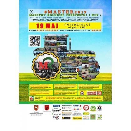 19 maj 2019 Pokaz i wystawa  MASTER Maszyny rolnicze Przetestuj i kup